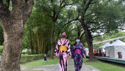 影/台南總爺和風文化祭登場 遊客體驗「偽日本出國」