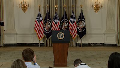 Biden urges COVID booster shots when eligible