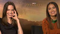 Angelina Jolie & Salma Hayek Gush Over Their 'Real' Friendship