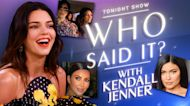 Kendall Jenner Tests Her Kardashian Quote Knowledge