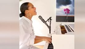 Alicia Keys Thanks Frontline Heroes In Powerful New Ballad.