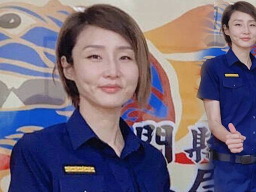 南投埔里警分局女力傳承 新任分局長是「警界鄭秀文」