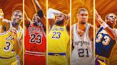 NBA最強五人名單票選出爐!現役唯一入選是他? | 蕃新聞