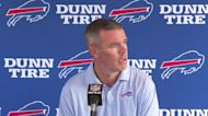 Buffalo Bills GM Brandon Beane speaks on the first day of training camp