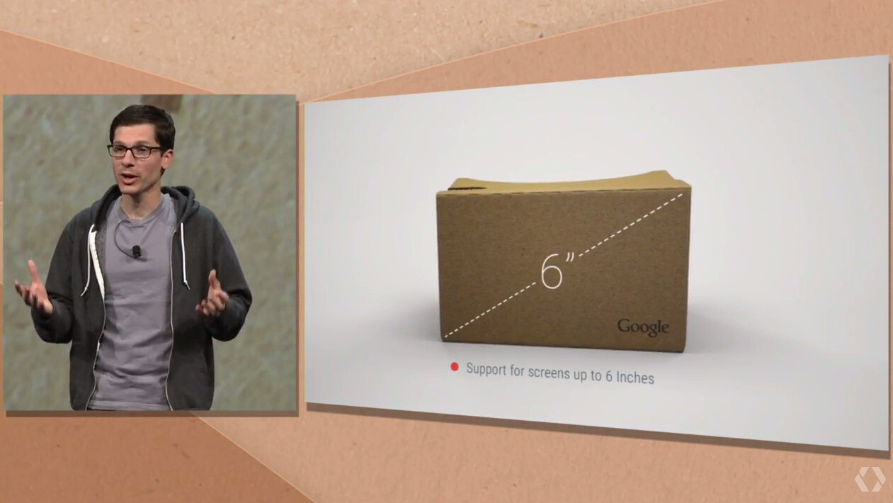 Google Cardboard virtual reality headset grows bigger, gets iPhone ...