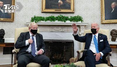 拜登與英首相會面!強生突點媒體提問 白宮不滿秒趕人│TVBS新聞網