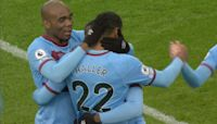 Haller smashes West Ham in front of Blades