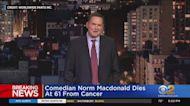 Comedian Norm Macdonald Dies At 61