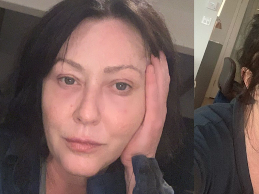 Shannen Doherty, 50, Calls Out Unrealistic Beauty Standards in Makeup-Free Instagram Selfie