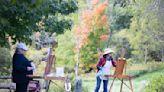 Painting 'en plein air,' Greater Boston artists capture fall's glory - The Boston Globe