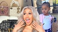 Cardi B Goes on Chanel and Dior Shopping Spree for Daughter Kulture