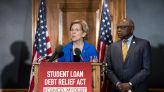 Warren pushes Biden to forgive student debt as White House considers his legal authority