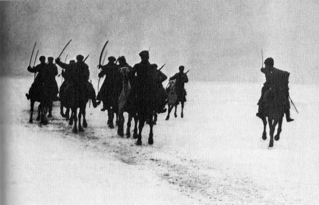 ... unit crosses the ice to crush the Kronstadt Rebellion - 17 March 1921