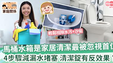 【廁所水箱清潔】輕鬆學馬桶水箱清潔4步驟|慎用馬桶清潔錠 | MamiDaily 親子日常