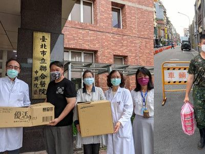 醫護餓到沒得吃!萬華哥送1個月便當 物資已排到7月:找回光榮感