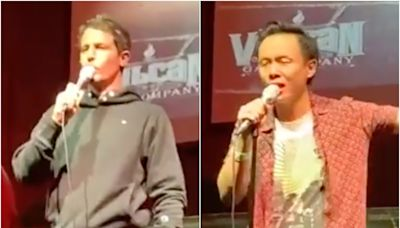 Comedian Tony Hinchcliffe dropped by agents after calling Chinese comic Peng Dang racist slur on stage