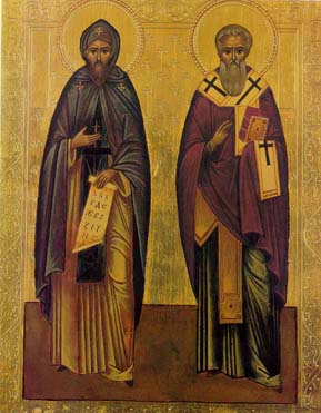 ... the life and work of Ss Cyril and Methodius. Here is a bit about them