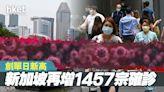 【新加坡疫情】再增1457宗確診 創單日新高 - 香港經濟日報 - 即時新聞頻道 - 國際形勢 - 環球社會熱點