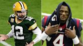 Aaron Rodgers, Deshaun Watson drama hanging over NFL training camps