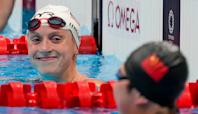 Ledecky tops heats in Olympic debut of women's 1,500 free