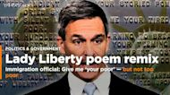 Trump immigration director changes Statue of Liberty poem: Give me your tired, your poor — but not too poor