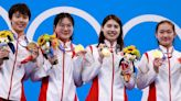 女子4x200自接力中國刷新世績奪金