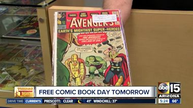 """All About Books & Comics"" preps for Free Comic Book Day"