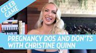 Christine Quinn Defends Returning to Work 1 Week After Birth: 'Love' My Job