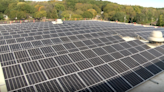 More than 500 solar panels installed at Woodruff Career and Technical Center