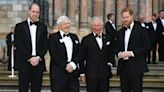 Harry and William blew hot and cold with Charles, claims new book