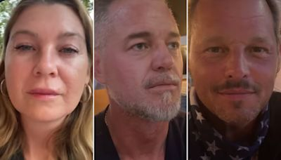 'Grey's Anatomy' Reunion! Ellen Pompeo Enjoys Night Out with Eric Dane and Justin Chambers