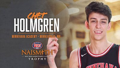 Chet Holmgren — the nation's No. 1 basketball recruit — has committed to Gonzaga