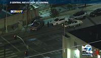 Officer shot outside South LA police station; suspect, 14, in custody
