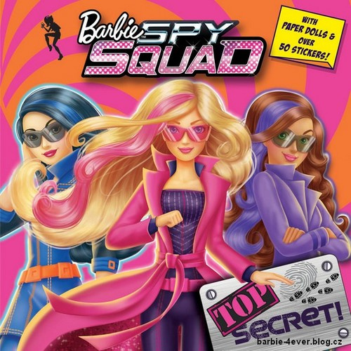 Barbie Movies Barbie in Spy Squad Book!