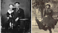 64 old photos offer a rare glimpse into our strange history
