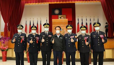 嘉縣警局人事異動 4警分局長今上任 | 台灣好新聞 TaiwanHot.net