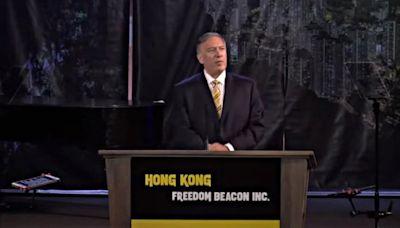 蓬佩奧:香港未來屬於抗爭者 而非中共(視頻) - - 時事追蹤