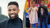 Tristan Thompson shares rare photos of daughter True with son Prince