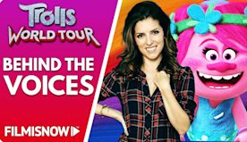 TROLLS WORLD TOUR ⚡ Behind the voices of animated musical family movie