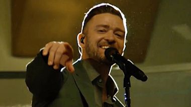 """Justin Timberlake Promises """"Better Days"""" Are Ahead With Soulful 2021 Inauguration Day Performance"""