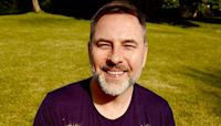 David Walliams looks besotted with his 'loves' in gorgeous photo