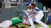 Perez hits 43rd homer as Royals rally past Athletics, 10-7