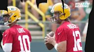 Aaron Rodgers is back with the Packers and wants a bigger role