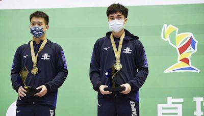林昀儒男雙決賽再對到莊智淵 攜手廖振珽奪金