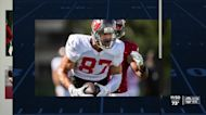 Bucs tight end Rob Gronkowski hits the ground running