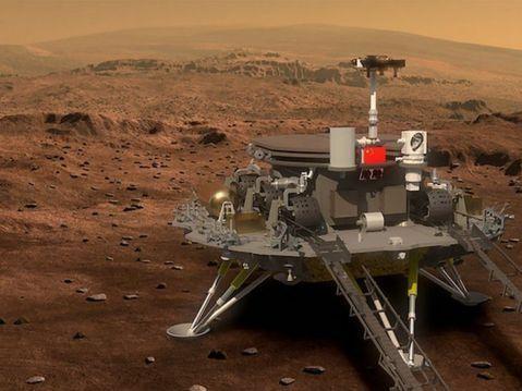 中國計畫2023年載人探測火星 建永久定居點 | 蘋果新聞網 | 蘋果日報