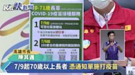 快新聞/高雄7/7幼兒園課照中心、70歲以上7/9打疫苗