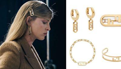 Fendi全新Logo珠寶美翻!項鍊、耳環、手環..推薦Top10,「這款」長鏈還可當作腰鍊!