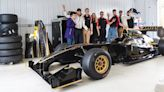 Genius Garage Students Get a (Fake) Lotus F1 Car