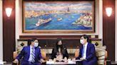 高雄百萬口罩助印度 戴國瀾訪陳其邁盼深化合作 | 地方 | NOWnews今日新聞
